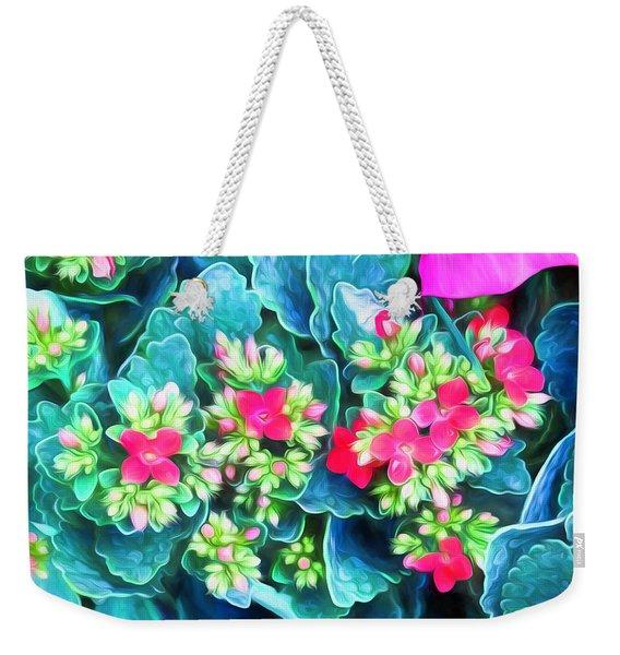New Blooms Weekender Tote Bag