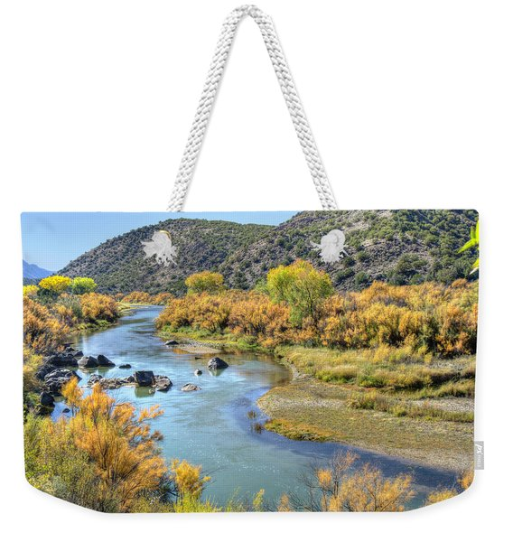 New Mexico Autumn Weekender Tote Bag