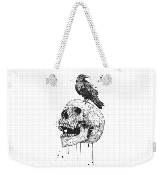 New Skull Weekender Tote Bag