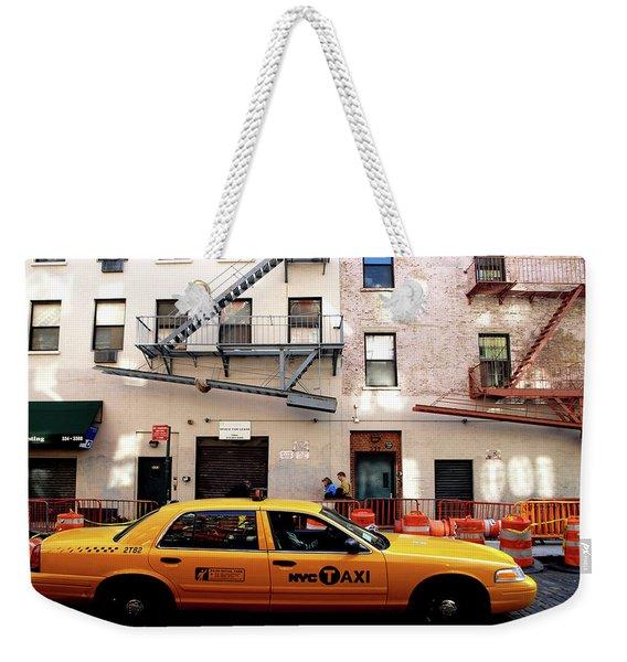New York, Cab Weekender Tote Bag