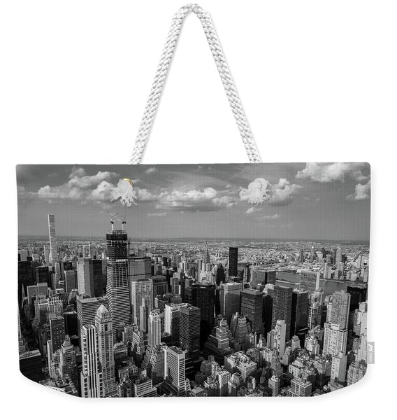 New York City Empire State Building Weekender Tote Bag