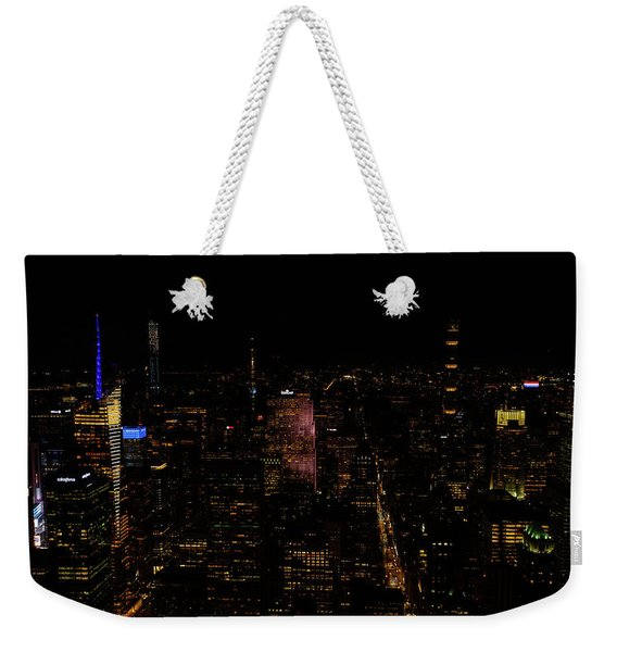 New York City Fifth Ave Weekender Tote Bag