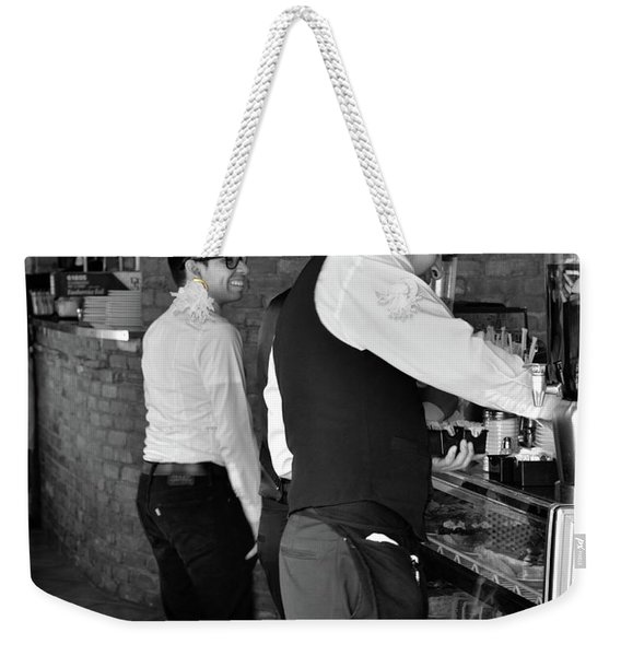 Weekender Tote Bag featuring the photograph New York, New York 18 by Ron Cline
