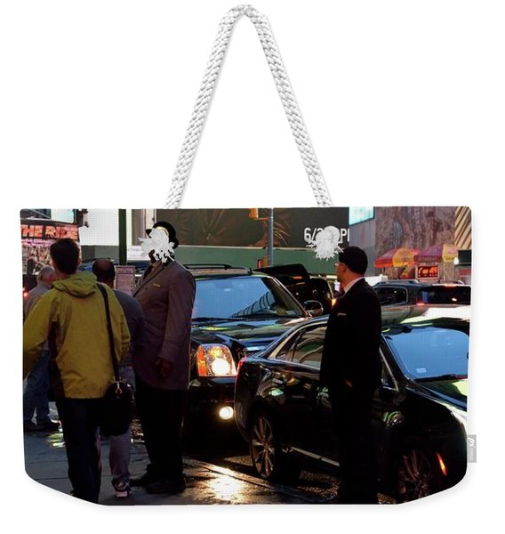 Weekender Tote Bag featuring the photograph New York, New York 29 by Ron Cline