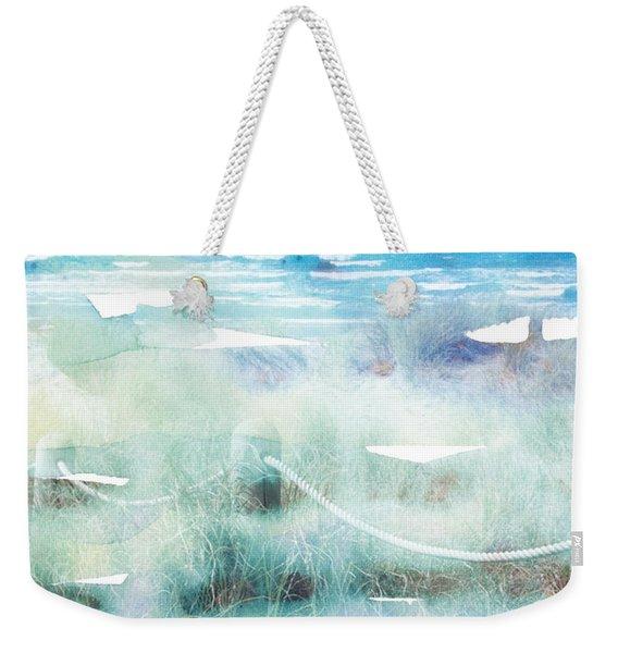 New Zealand Beachscape Weekender Tote Bag