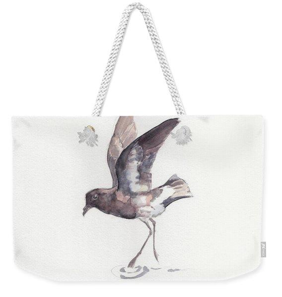 New Zealand Storm Petrel Weekender Tote Bag