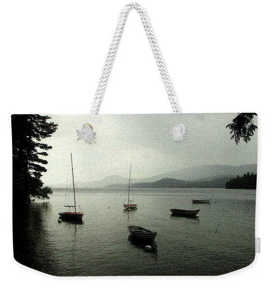 Weekender Tote Bag featuring the photograph Newfound Vista by Wayne King