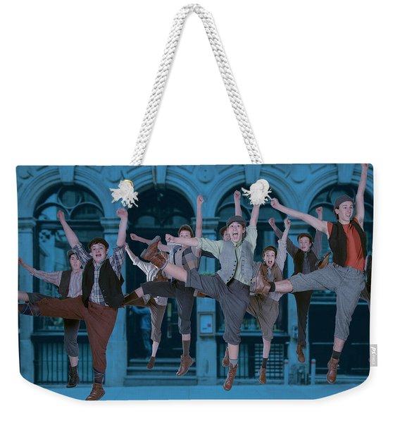 Newsies At The Artisan Center Theater Weekender Tote Bag