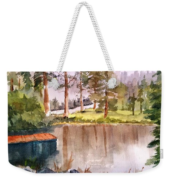 Nez Perce Lake Weekender Tote Bag