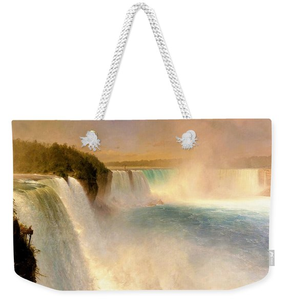 Niagara Falls, From The American Side - Digital Remastered Edition Weekender Tote Bag