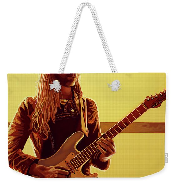Nick Johnston Painting Weekender Tote Bag