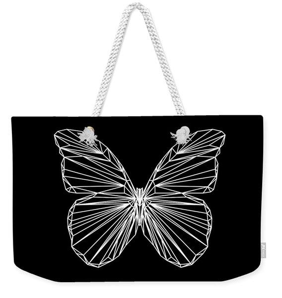 Night Batterfly Weekender Tote Bag