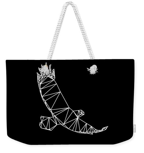 Night Eagle Weekender Tote Bag