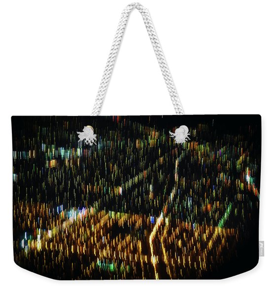 Night Flight Weekender Tote Bag