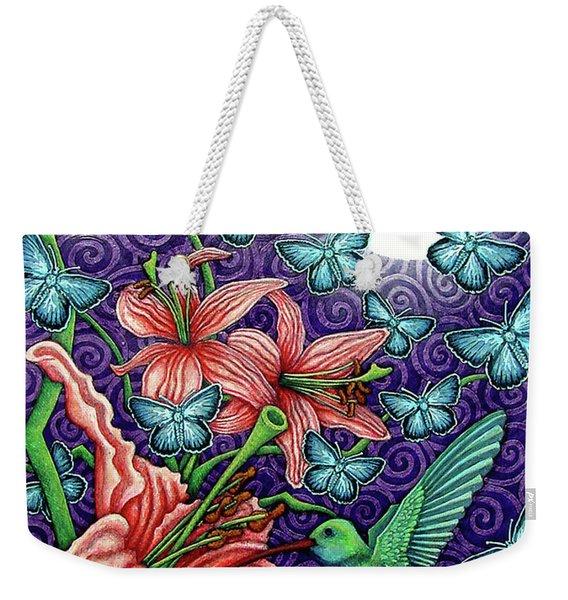 Night Garden 5 Weekender Tote Bag