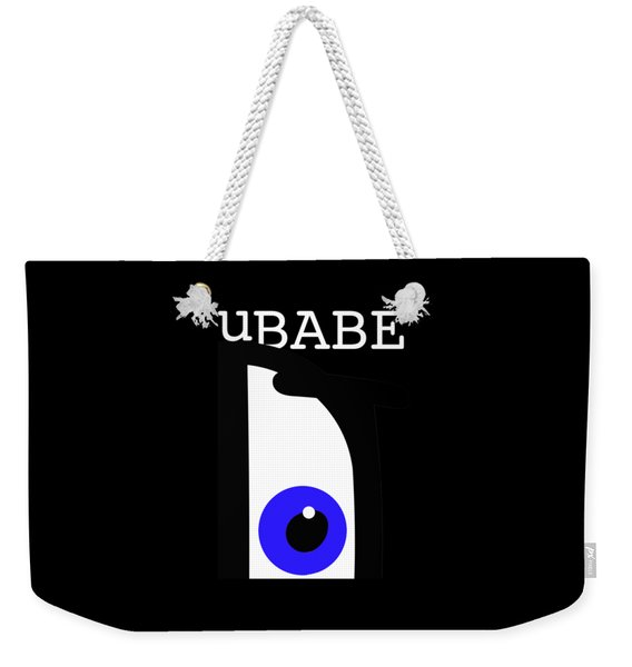 Night Of The Babe Weekender Tote Bag