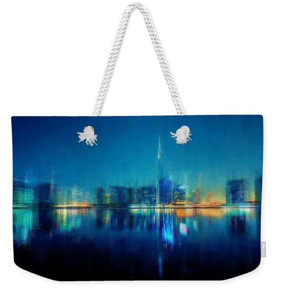Night Of The City Weekender Tote Bag