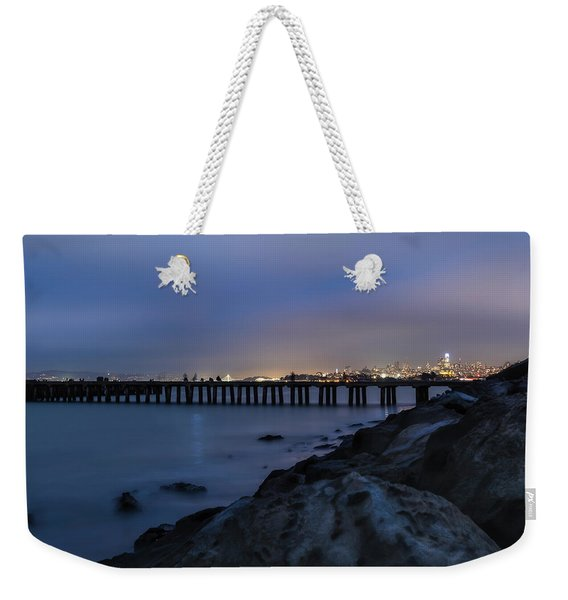 Night Pier- Weekender Tote Bag