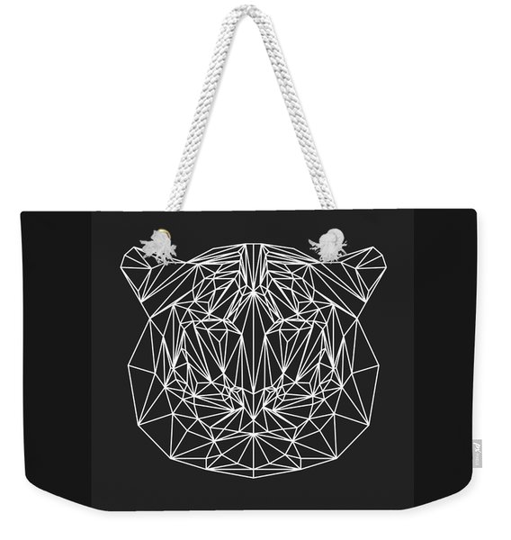Night Tiger Weekender Tote Bag