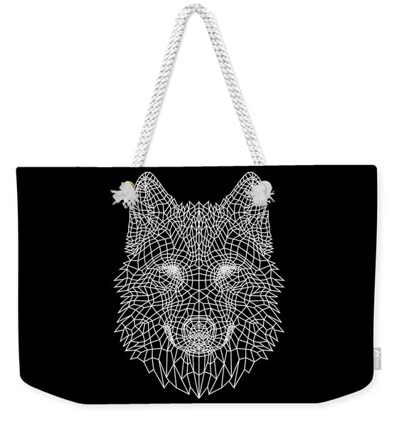 Night Wolf Weekender Tote Bag