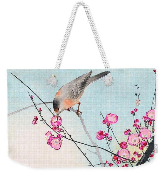 Nightingale Weekender Tote Bag