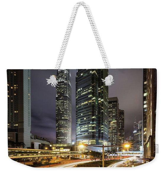 Nights Of Hong Kong Weekender Tote Bag