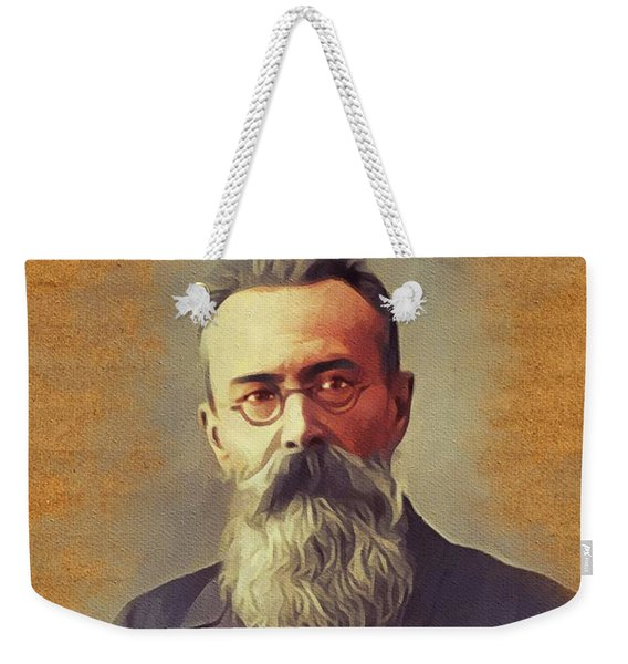 Nikolay Rimsky Korsakov, Music Legend Weekender Tote Bag