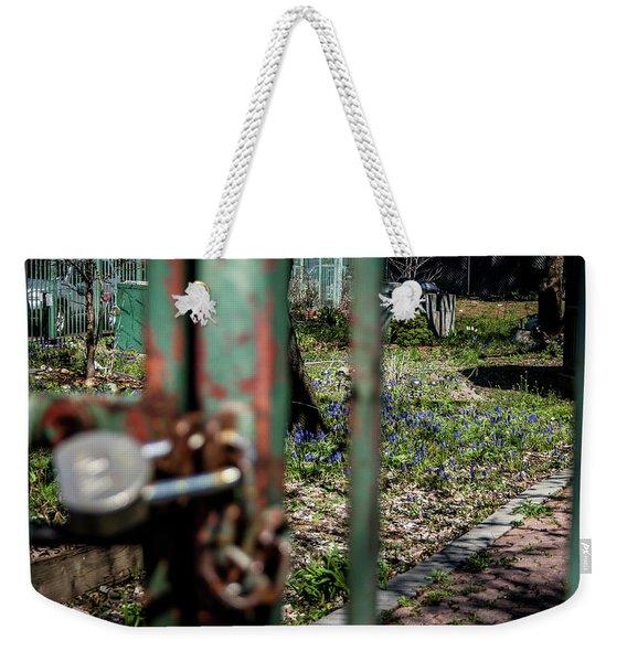 No Admittance Weekender Tote Bag