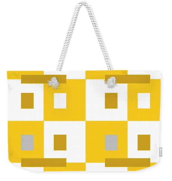 No Thinking II Weekender Tote Bag