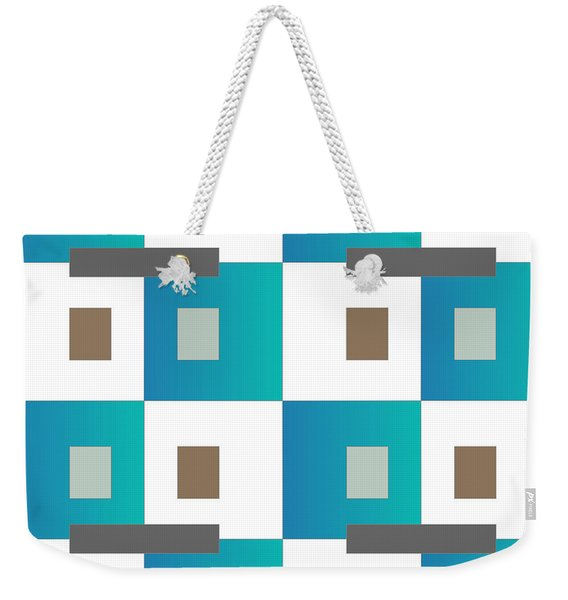 No Thinking Iv Weekender Tote Bag