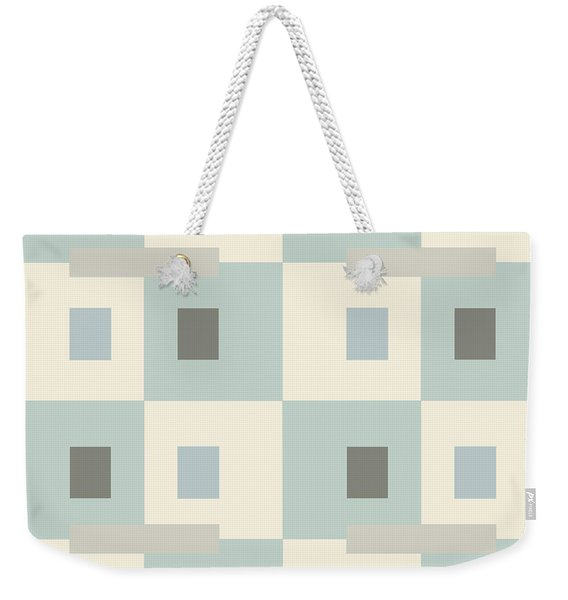 No Thinking V Weekender Tote Bag