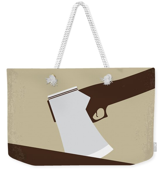 No1009 My Abraham Lincoln Vampire Hunter Minimal Movie Poster Weekender Tote Bag