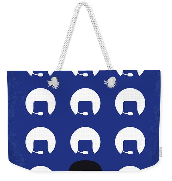 No1015 My Spaceballs Minimal Movie Poster Weekender Tote Bag