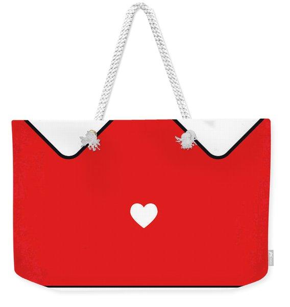 No1027 My Annie Minimal Movie Poster Weekender Tote Bag