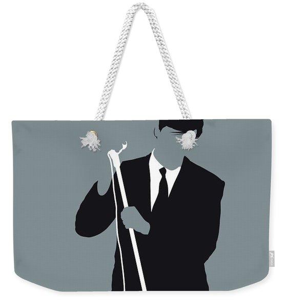 No237 My Roxy Music Minimal Music Poster Weekender Tote Bag