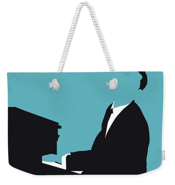 No255 My John Legend Minimal Music Poster Weekender Tote Bag