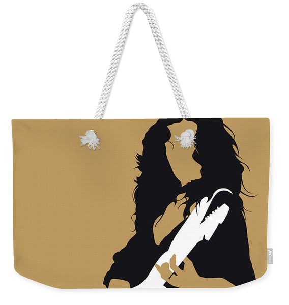 No270 My Bonnie Raitt Minimal Music Poster Weekender Tote Bag