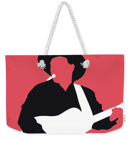 No272 My Garth Brooks Minimal Music Poster Weekender Tote Bag