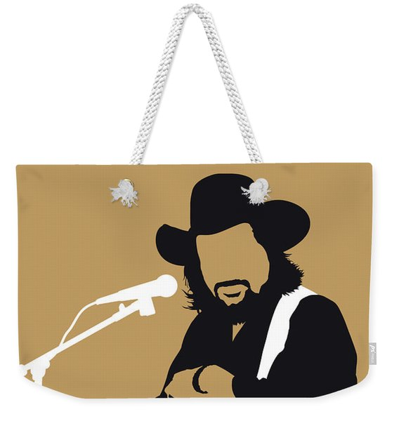 No280 My Waylon Jennings Minimal Music Poster Weekender Tote Bag