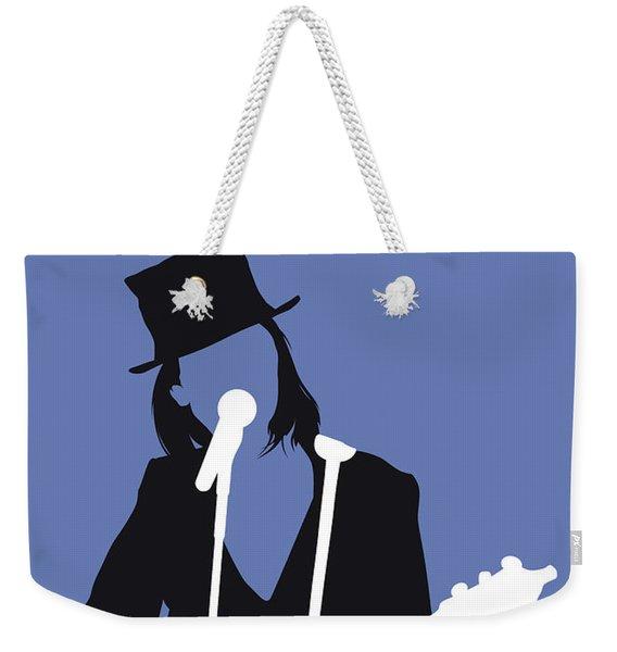 No298 My Suzanne Vega Minimal Music Poster Weekender Tote Bag