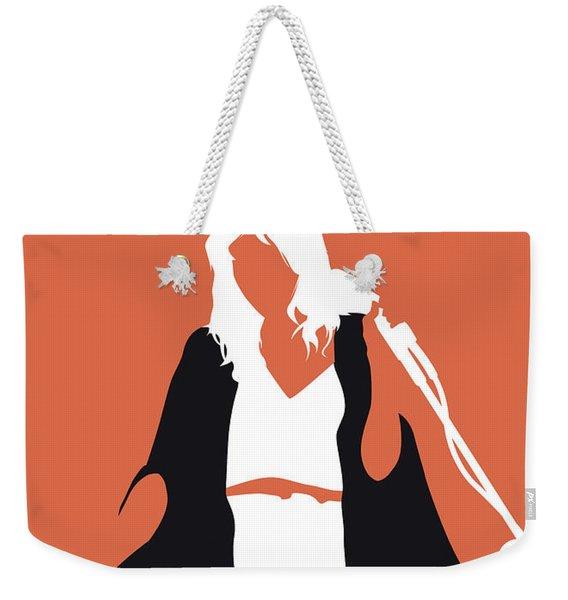 No303 My Fleetwood Mac Minimal Music Poster Weekender Tote Bag