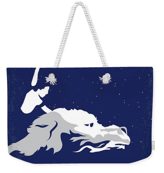 No975 My The Neverending Story Minimal Movie Poster Weekender Tote Bag