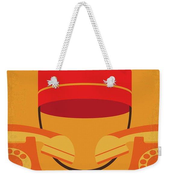 No977 My The Bellboy Minimal Movie Poster Weekender Tote Bag