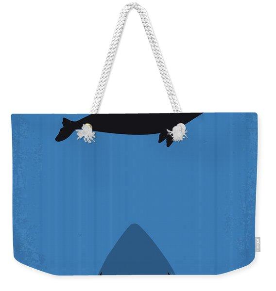 No985 My Meg Minimal Movie Poster Weekender Tote Bag