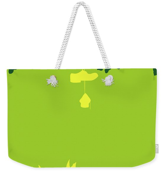 No993 My Big Fish Minimal Movie Poster Weekender Tote Bag