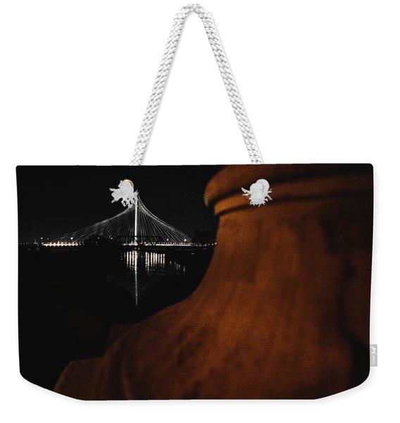 Noir Dallas Weekender Tote Bag