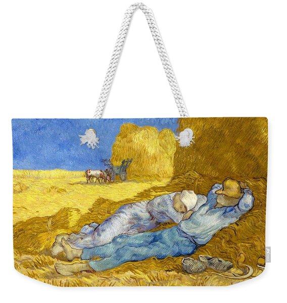 Noon-rest From Work - Digital Remastered Edition Weekender Tote Bag
