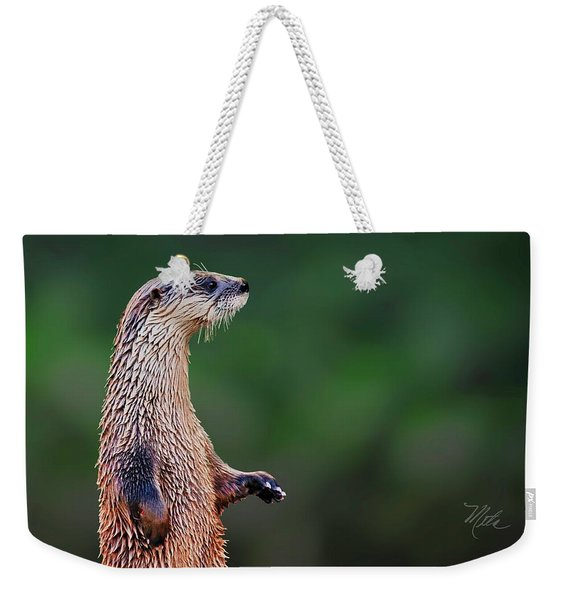Norman The Otter Weekender Tote Bag