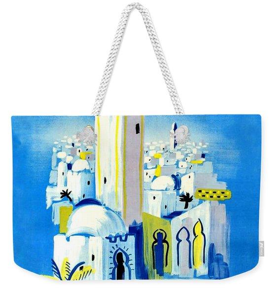North Africa Weekender Tote Bag