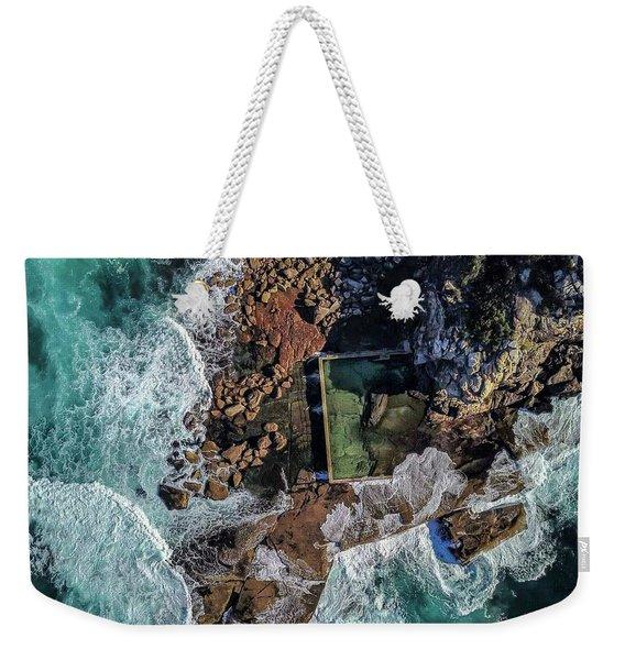 North Curl Curl Headland And Pool Weekender Tote Bag